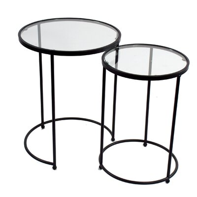 2 Piece Nesting Tables by Winward Designs