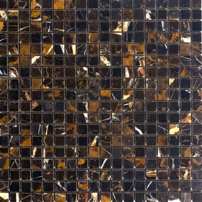 """Epoch Architectural Surfaces 0.63"""" x 0.63"""" Marble Mosaic Tile in Michaelangelo"""