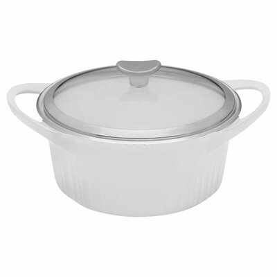 Cast Aluminum Round Dutch Oven by Corningware