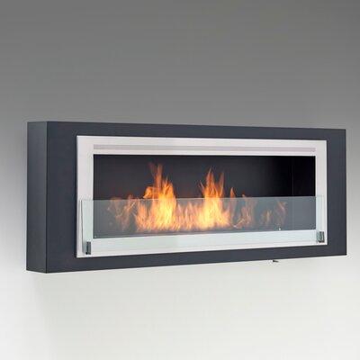 Santa Cruz 2 Sided Fireplace by Eco-Feu