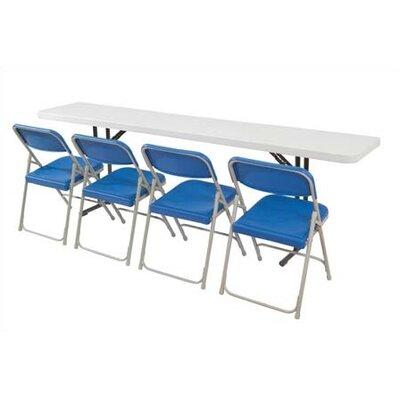 "National Public Seating 60"" Rectangular Folding Table"