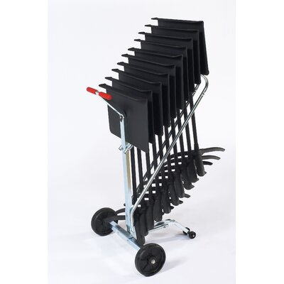 National Public Seating Music Stand Dolly For 10