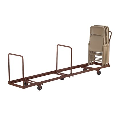 """National Public Seating 38.5"""" x 19.25""""  x 81"""" Folding Chair Dolly"""