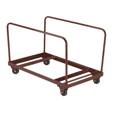 "National Public Seating 31"" x 28"" x 48"" Folding Table Dolly"