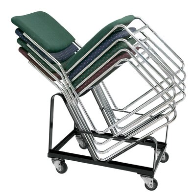 """National Public Seating 26"""" x 21"""" x 21"""" Chair Dolly"""