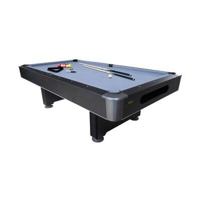 Mizerak dakota brs slate 8 39 pool table reviews wayfair for 1 slate pool table