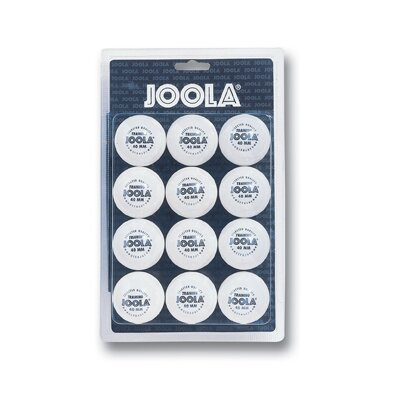 Joola USA 40 mm Training Ball - 12 Count in White