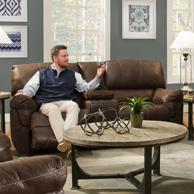 Simmons Upholstery UFI2899 Renegade Beautyrest Motion Console Loveseat