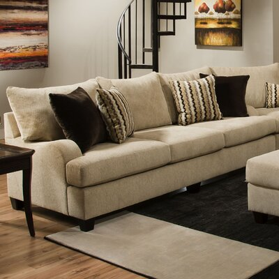 Trinidad Sofa Modular Sectional Sofa by Simmons Upholstery