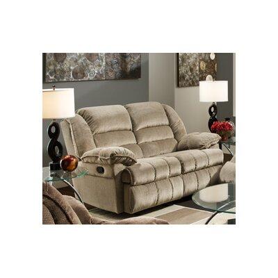 Simmons Upholstery UFI2657 Champion Motion Gliding Loveseat