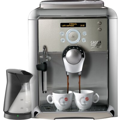 Platinum Swing Up Espresso Machine by Gaggia