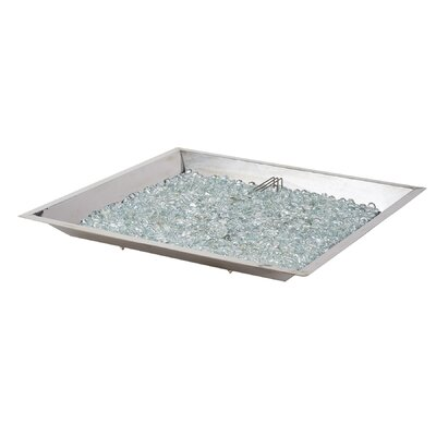 Glass Natural Gas / Propane Fire Pit Table by The Outdoor GreatRoom Company