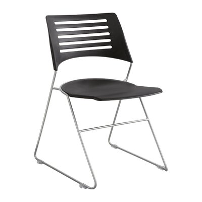 Pique Armless Office Stacking Chair by Safco Products