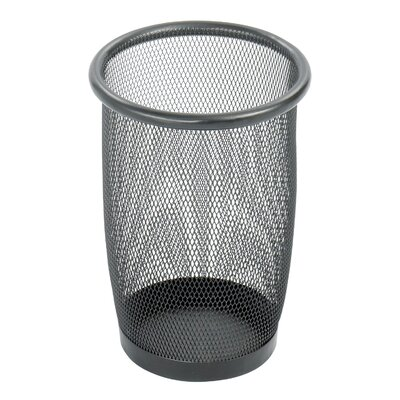 Safco Products Company Onyx 75-Gal Round Mesh Wastebasket