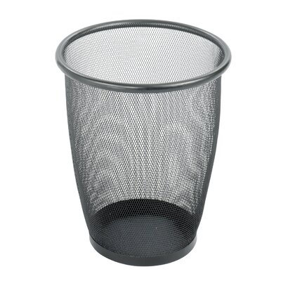 Safco Products Company Onyx 5-Gal Round Mesh Wastebasket