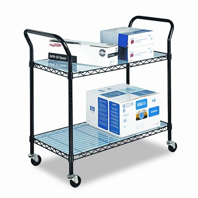 Wire Utility Cart by Safco Products