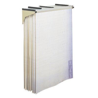 Safco Products Company Safco Sheet File Drop/Lift Wall Rack