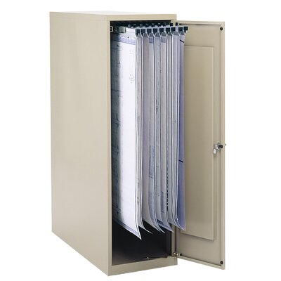 Safco Products Company Enclosed Vertical File Filing Cabinet