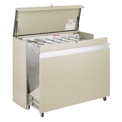 Safco Products Company MasterFile 2 Large Filing Cart