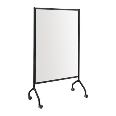 Safco Products Company Impromptu Full Collaboration Screen Mobile Magnetic Free Standing Whiteboard, 6' x 4'