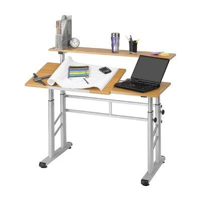 Safco Products Company Adjustable Split Level Workstation