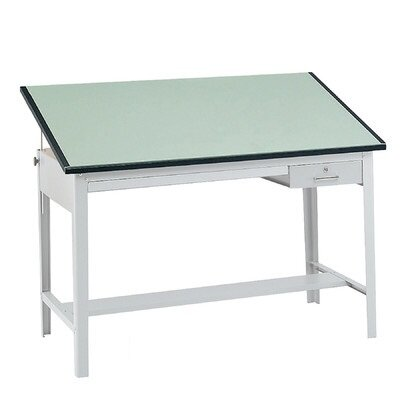 Safco Products Company Precision Drafting Rectangular Table Top, Wide