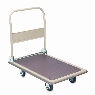 Safco Products Company Large Fold-Away Platform Dolly