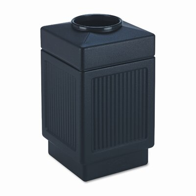 Safco Products Company Canmeleon 38-Gal Top-Open Square Receptacle