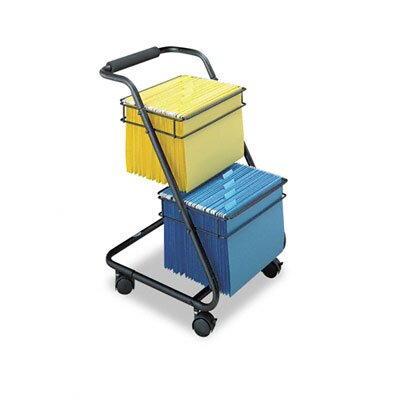 Safco Products Company Jazz Two-Tier File Cart