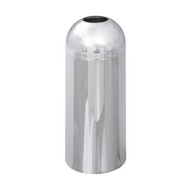 Reflections Open-Top Dome Round Receptacle by Safco Products