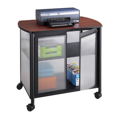 Safco Products Company Impromptu Deluxe Printer Stand with Doors