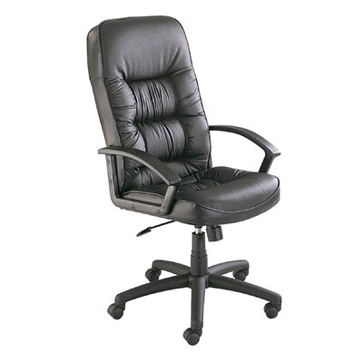 Safco Products Company Serenity High-Back Series Leather Executive Seat
