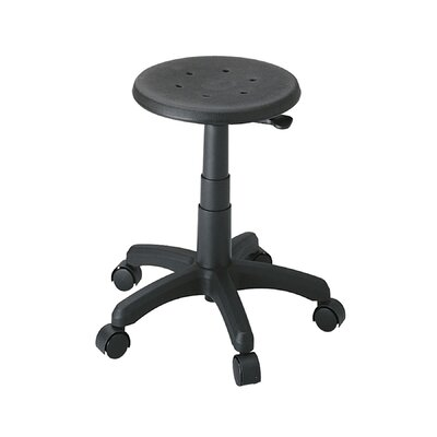 Safco Products Company Height Adjustable Office Stool with Casters