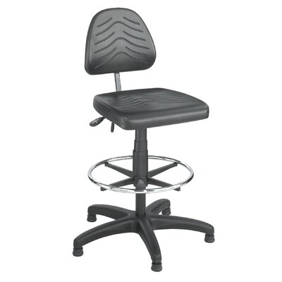 Safco Products Company TaskMaster Height Adjustable Drafting Chair