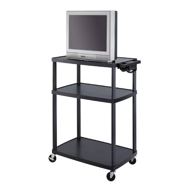 Safco Products Company Mobile AV Adjustable TV Cart