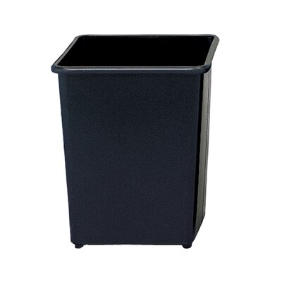 Safco Products Company 7.75-Gal Square Wastebasket