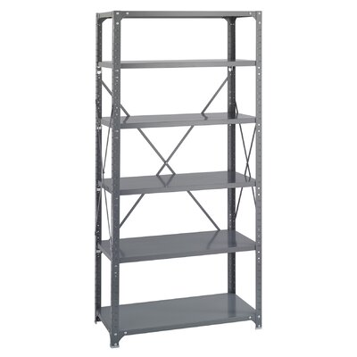 Safco Products Company Commercial 6 Shelf Shelving Unit Starter