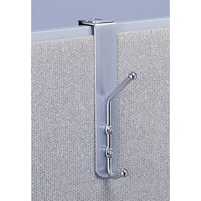 Safco Products Company Over-the-Panel Double Coat Hook