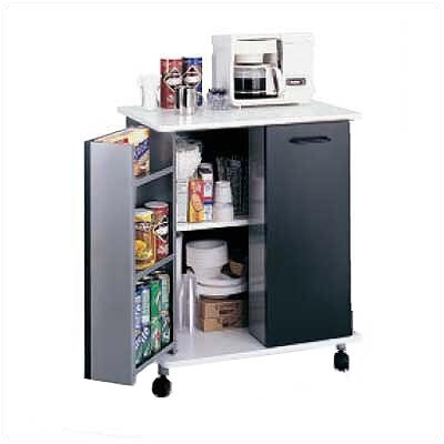Safco Products Company Refreshment Kitchen Cart