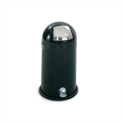 Safco Products Company 12-Gal Step-On Dome Round Receptacle