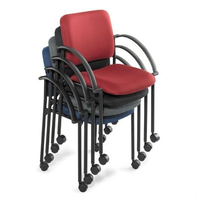 Safco Products Company Moto Stack Guest Chair