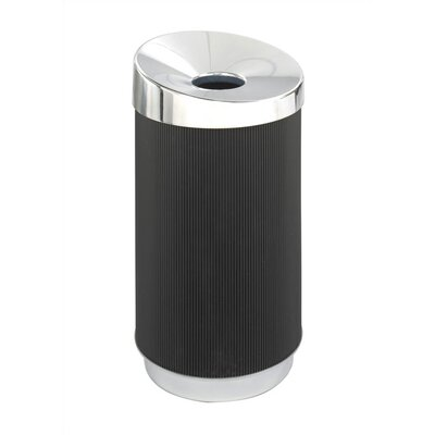 At-Your-Disposal Vertex Round Receptacle by Safco Products