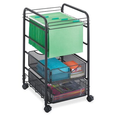 Safco Products Company Open File Cart