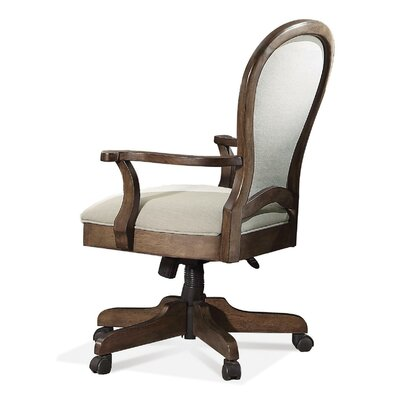 Belmeade Round Back Desk Chair with Arm by Riverside Furniture