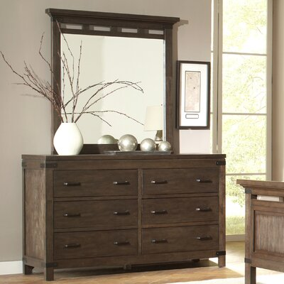 Promenade 6 Drawer Dresser with Mirror by Riverside Furniture
