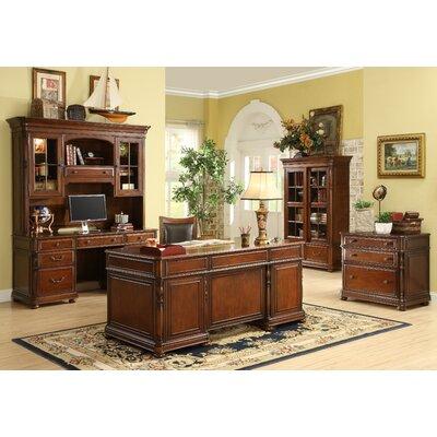 Riverside Furniture Bristol Court 5-Piece Standard Desk Office Suite