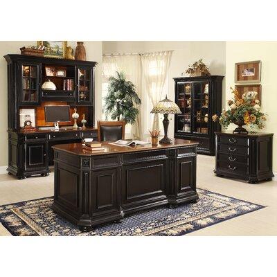 Riverside Furniture Allegro 5-Piece Standard Desk Office Suite