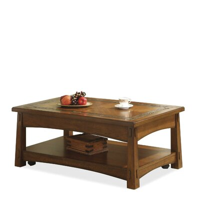 Craftsman Home Coffee Table with Lift Top by Riverside Furniture