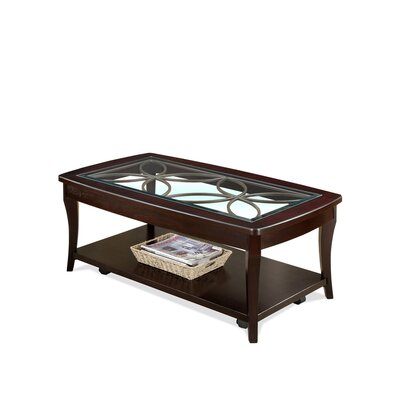 Riverside Furniture Annandale Coffee Table with Shelf