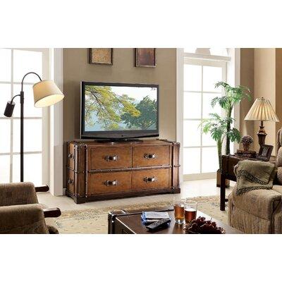Riverside Furniture Latitudes Steamer Trunk Tv Stand